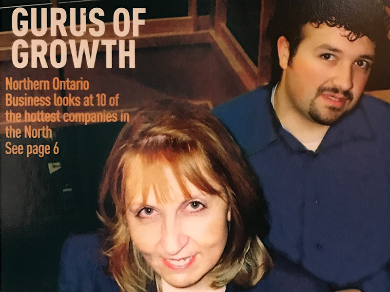 Irene and Joe in Northern Ontario Business magazine
